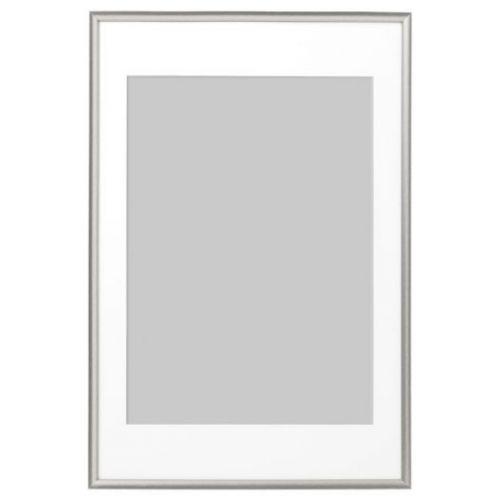 SILVERHOJDEN СИЛВЕРХОЙДЕН, Рама, серебристый, 61x91 см - 703.718.65