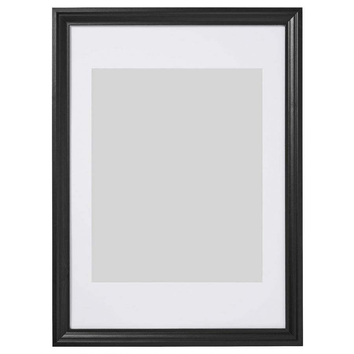 EDSBRUK ЭДСБРУК, Рама, черная морилка, 50x70 см - 104.276.34