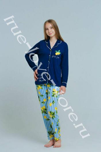 227011 - Цена за 6 шт, Пижама из хлопка