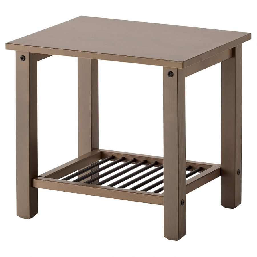 RYKENE РИКЕНЕ, Тумба прикроватная, серо-коричневый, 40x50 см - 902.649.92