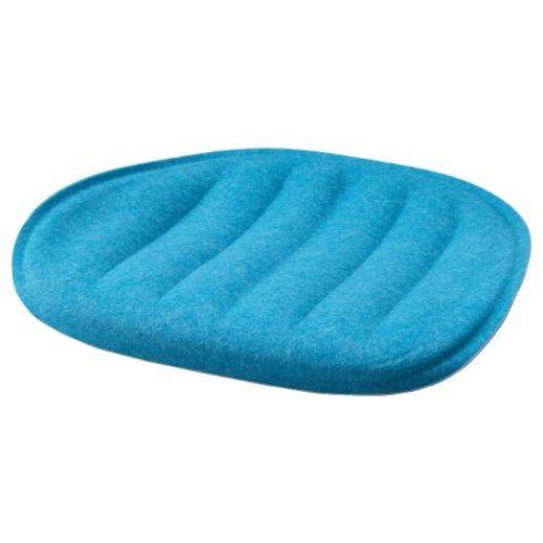 PYNTEN ПЮНТЕН, Подушка на сиденье, синий, 41x43 см - 304.792.45