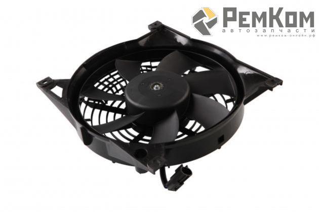RK04058 * 2190-8112010 * Мотор вентилятора радиатора кондиционера для а/м 2190, 2192, 2194 с кожухом и крыльчаткой