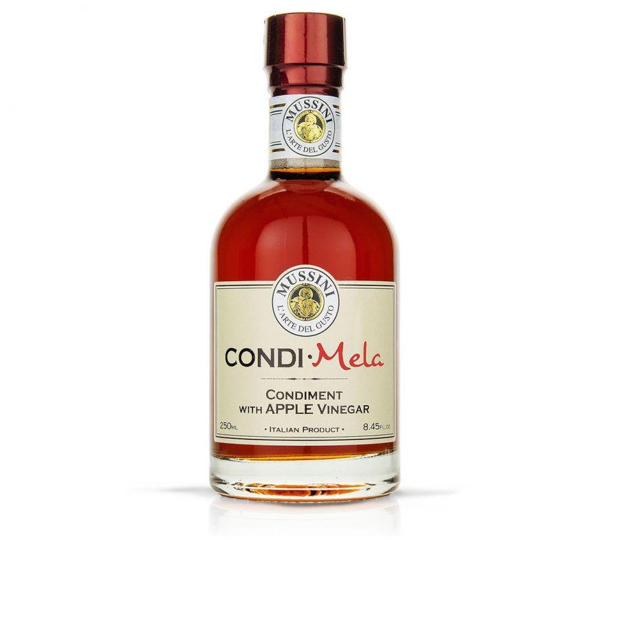 Заправка на основе яблочного уксуса  250 мл, Condimento Mela , Mussini, 250 ml