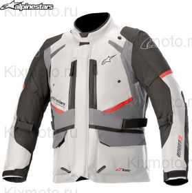 Мотокуртка Alpinestars Andes V3 Drystar, Бело-черно-серый