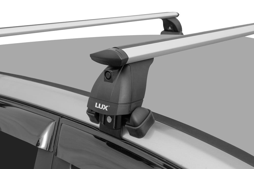Багажник на крышу Skoda Rapid 2017-..., Lux, крыловидные дуги