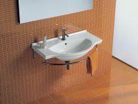 Раковина подвесная или мебельная накладная Hatria Sophie Y0AN01 86х50 схема 2