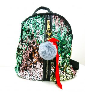 """Рюкзак с пайетками-перевертышами """"Микс цветов"""""""