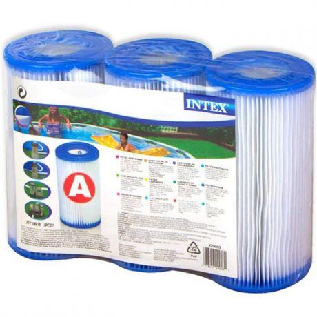 """Intex 29003, 3 картриджа тип """"А"""" для фильтра"""
