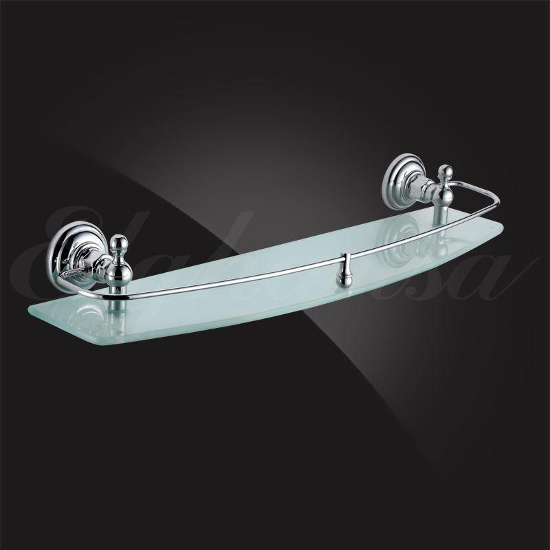 Полочка для ванной 50 см с ограничителем Elghansa Praktic PRK-550