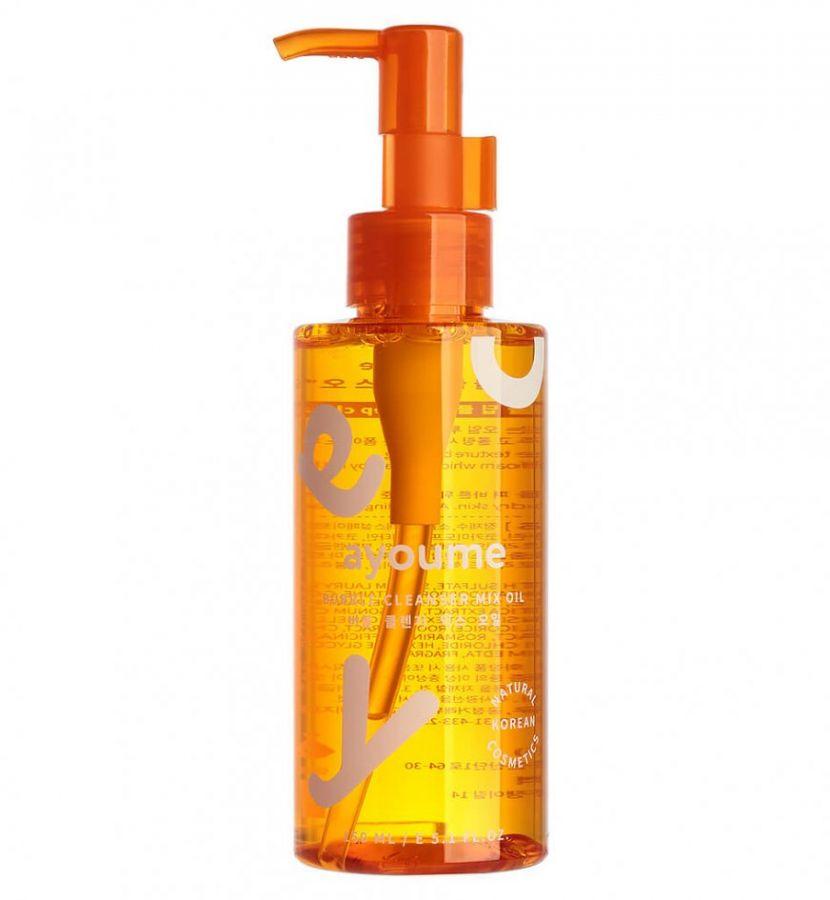 Масло-пенка для снятия макияжа Ayoume Bubble Cleanser Mix Oil, 150 мл
