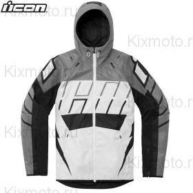 Куртка Icon Airform Retro, Бело-серая