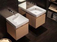 Подвесная или мебельная накладная раковина Hatria Grandagolo 50 50х50 схема 3