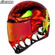 Шлем Icon Airform Manik'r, Красный