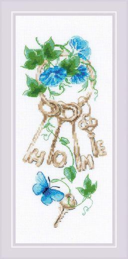 Набор для вышивания Ключи к дому 1929 фирма Риолис