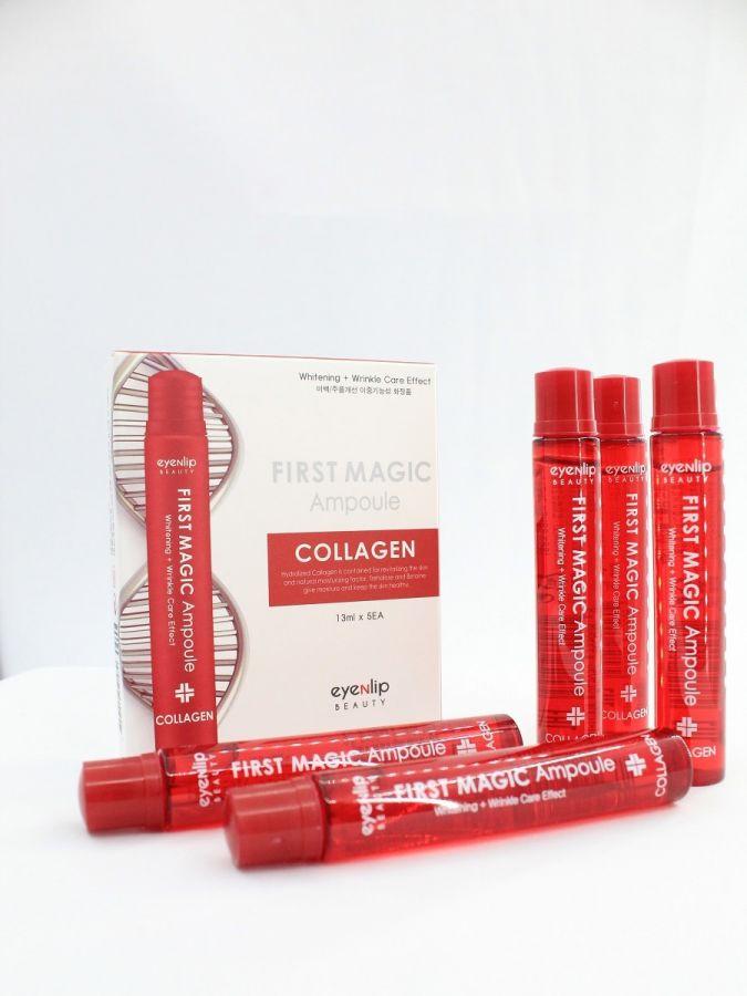 Ампулы для лица с коллагеном Eyenlip First Magic Ampoule Collagen 13мл