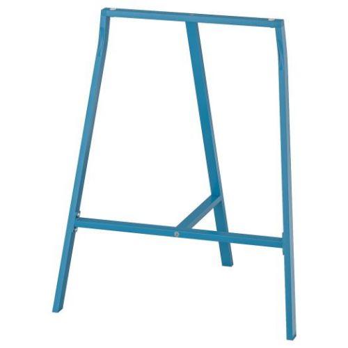 LERBERG ЛЕРБЕРГ, Опора для стола, синий, 70x60 см - 504.736.43