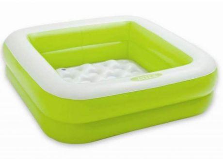 """Intex 57100, надувной детский бассейн """"Зеленый"""""""