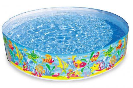Детский каркасный бассейн Intex (56452) 183-38 см, 977 л., 2,25 кг
