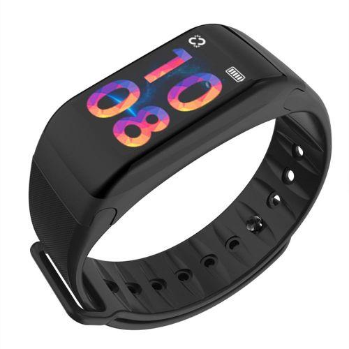 Фитнес-браслет F1 Smart Bracelet(шаги,пульс,кровеносное давление) цветной дисплей