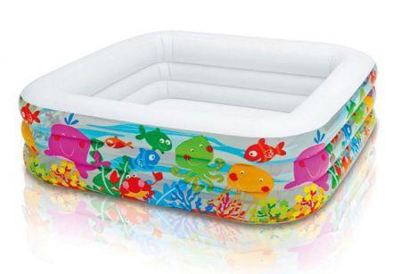 Intex 57471, надувной детский бассейн Аквариум