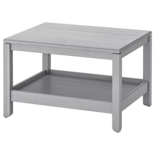 HAVSTA ХАВСТА, Журнальный стол, серый, 75x60 см - 904.142.08