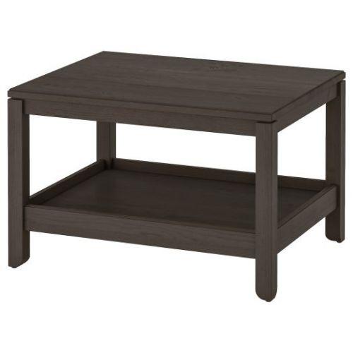 HAVSTA ХАВСТА, Журнальный стол, темно-коричневый, 75x60 см - 404.042.64