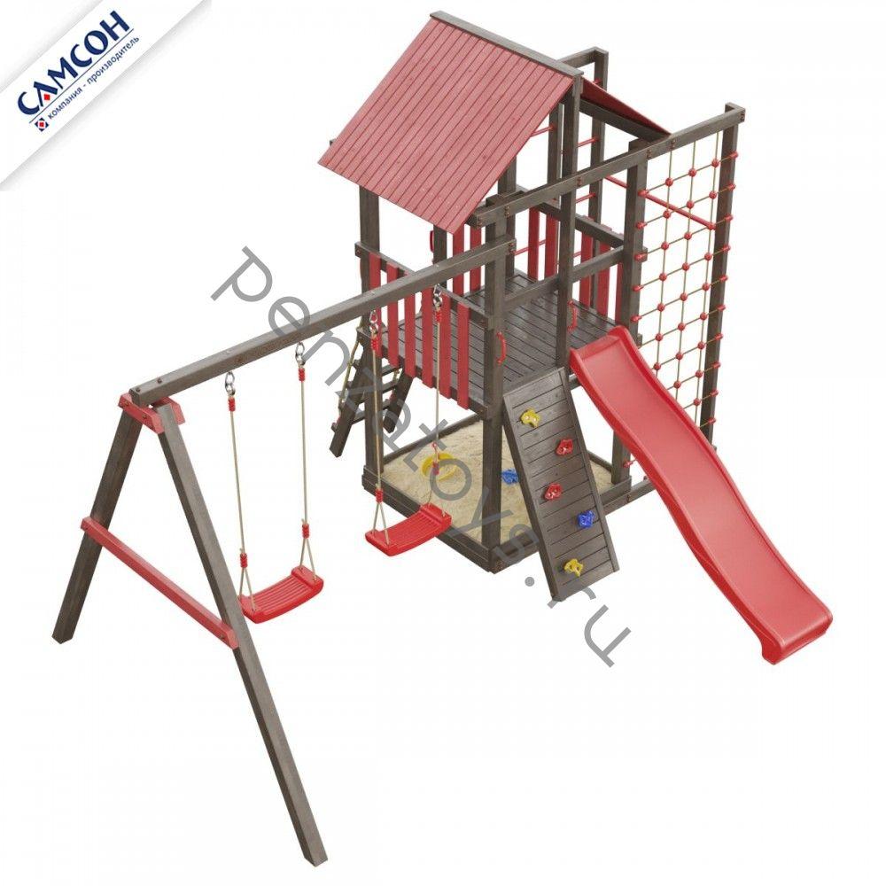 Детская игровая площадка для дачи Сибирика спорт
