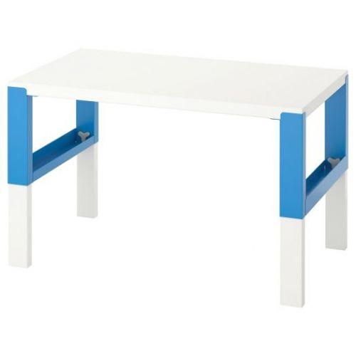 PAHL ПОЛЬ, Письменный стол, белый/синий, 96x58 см - 592.512.61