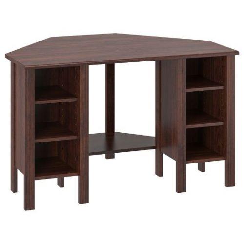 BRUSALI БРУСАЛИ, Угловой письменный стол, коричневый, 120x73 см - 703.796.68