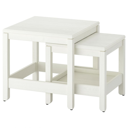 HAVSTA ХАВСТА, Комплект столов, 2 шт, белый - 504.042.87
