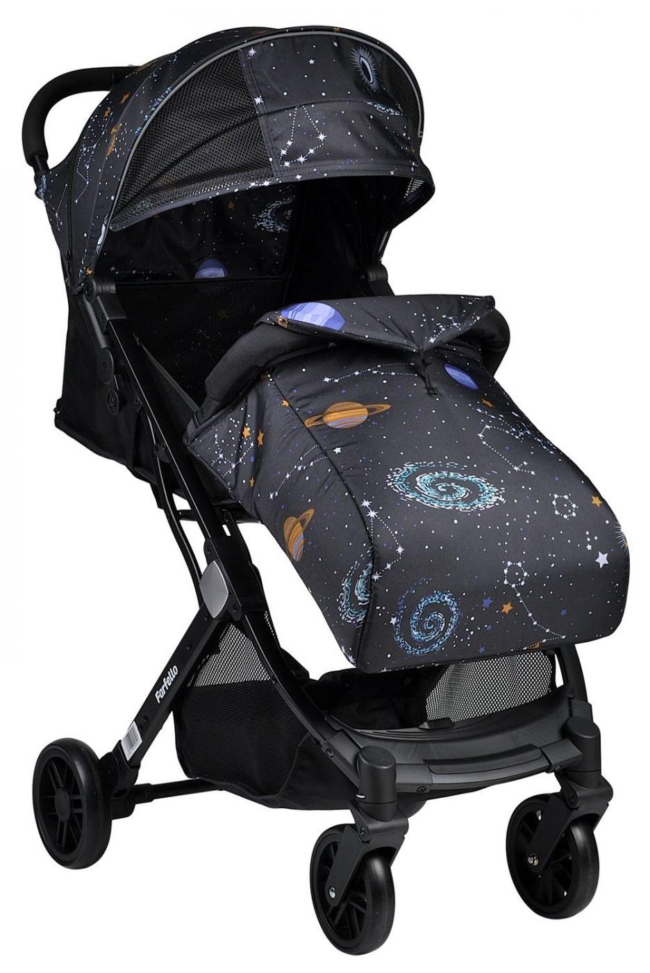 Прогулочная коляска Farfello Comfy Go Space, космический