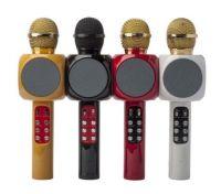 Беспроводной караоке микрофон с динамиком и подсветкой WS-1816