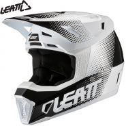 Шлем Leatt Moto 7.5 V21.1, Бело-черный
