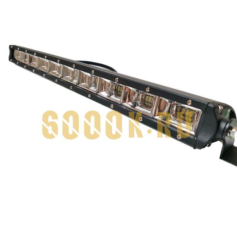 Однорядная светодиодная балка 120W Philips ближнего света