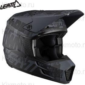Шлем Leatt Moto 3.5 V21.1 Ghost