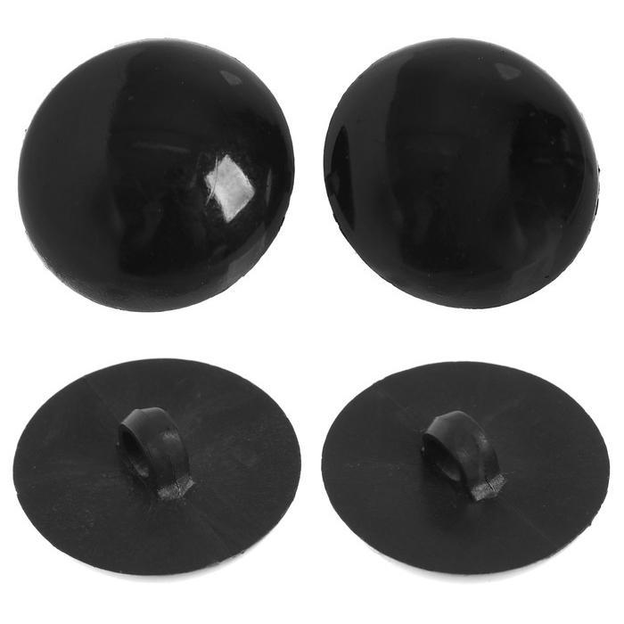 Глазки пришивные 20мм черный