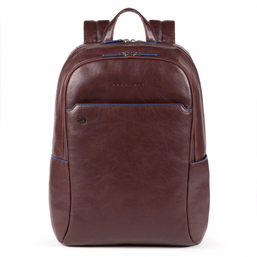 Рюкзак Piquadro CA4762B2S/TM большой мужской кожаный коричневый