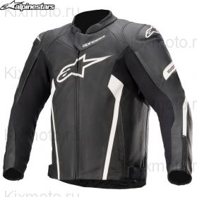 Мотокуртка Alpinestars Faster V2, Черно-белая