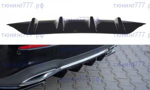 Накладка на диффузор Mercedes E43 AMG AMGLine W213