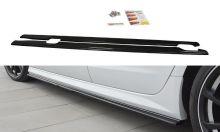 Накладки на пороги Audi A6 C7 S-Line (+S6) рестайлинг