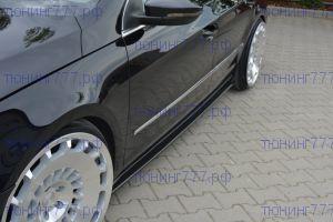 Накладки на пороги на VW Passat CC STANDARD