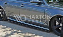 Накладки под пороги Audi A6 C7 S-line