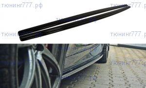 Накладки под пороги BMW 5 F10 M-PACK и M5