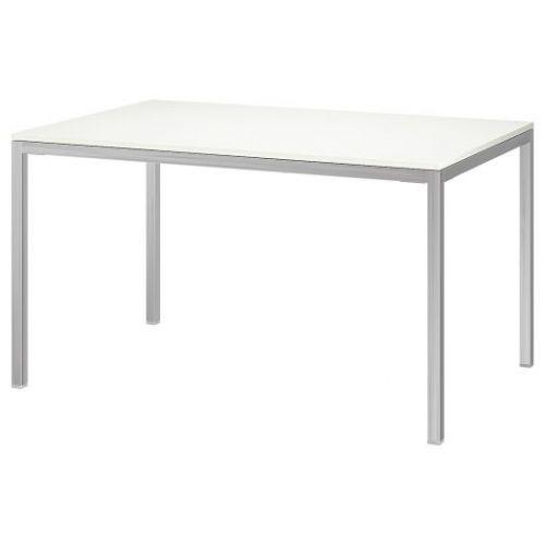 TORSBY ТОРСБИ, Стол, хромированный/глянцевый белый, 135x85 см - 692.271.76