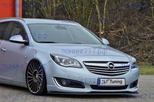 Сплиттер бампера Opel Insignia OPC-line рестайлинг