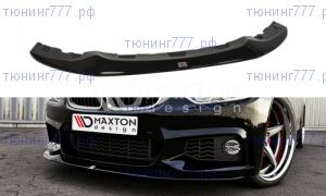 Сплиттер переднего бампера BMW F32 M-PACK GTS-look