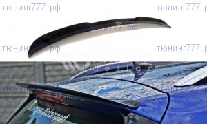 Спойлер на крышу багажника на VW Golf 7 R универсал