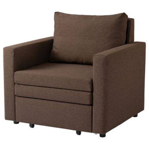 VATTVIKEN ВАТТВИКЕН, Кресло-кровать, лерхага коричневый - 604.507.97
