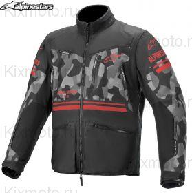 Куртка Alpinestars Venture R S21, Черно-камуфляжная