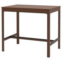 EKEDALEN ЭКЕДАЛЕН, Барный стол, коричневый, 120x80x105 см - 504.005.19